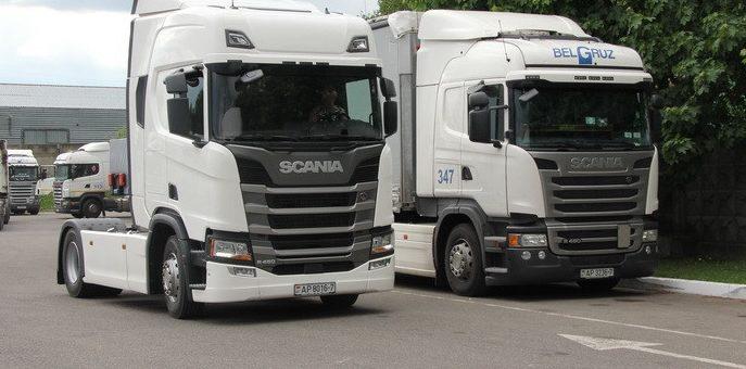 А нужен ли водитель? В Беларусь приехала новая Scania