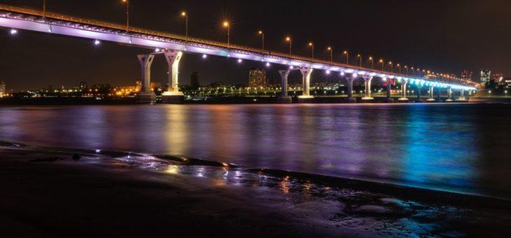 «Танцующий» через Волгу мост: знаменитый, надежный, недостроенный