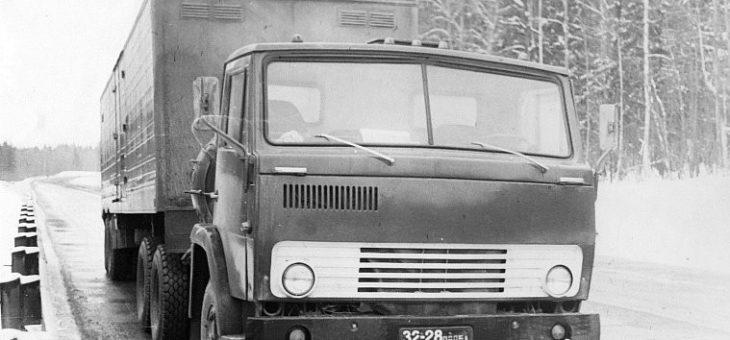 Какими были первые прототипы «КАМАЗа»: опубликованы редкие фото из заводских архивов